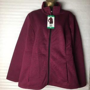 32° degrees ladies plush Lined tech Fleece jacket